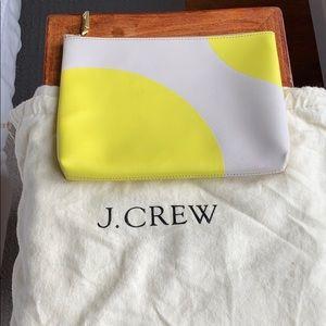 J. Crew makeup bag / clutch